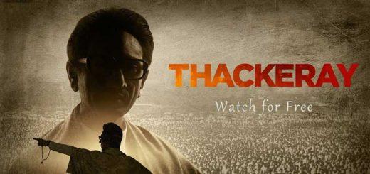 Thackeray movie poster