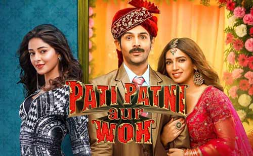 Pati Patni Aur Woh full movie download InsTube